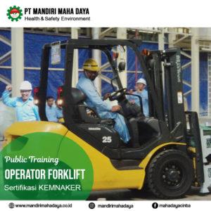 Pelatihan Operator Forklift